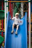 Child sliding Royalty Free Stock Image