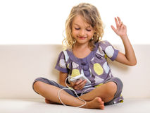 Child smartphone Royalty Free Stock Photography