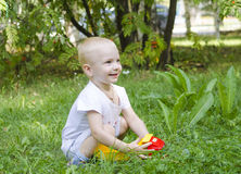 The child smiles Stock Photography
