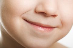 Child smiling Stock Image