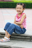 child smiling royalty free stock photo