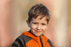 Child smiling Royalty Free Stock Image