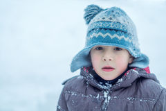 Child, Snow, Winter Royalty Free Stock Photography
