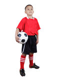Child Soccer Player Royalty Free Stock Photos