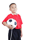 Child soccer player Stock Photos