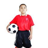 Child soccer player Royalty Free Stock Photography
