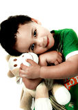 Child with Soft Toy Stock Photos