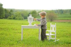 Child and Spring. Spring holidays concept. stock photography
