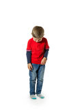 Child standing crying Royalty Free Stock Image