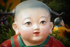 Child statue Stock Image