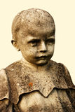 child statue stock photo