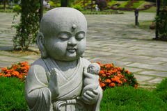 Child Stone Sculpture Royalty Free Stock Image