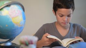 Child, Student, Education, School, Reading, Digital school stock video footage