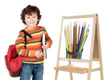 Child studying royalty free stock image
