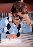 Child studying Stock Photography