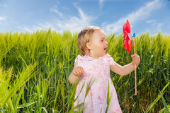 Child summer Royalty Free Stock Photo