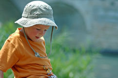 Child in Summer  Royalty Free Stock Photography