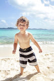 Child Summer Beach and Ocean Fun Royalty Free Stock Photos