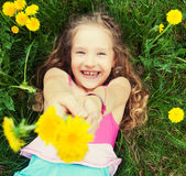 Child at summer Stock Photo