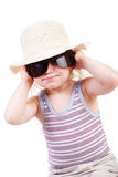 Child in sunglassses Stock Photo