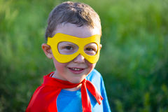 Child super hero Royalty Free Stock Photo