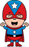 Child Superhero Excited Royalty Free Stock Photo