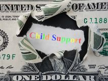 Child Support Stock Image