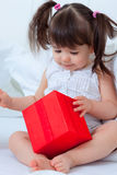 Child surprise Royalty Free Stock Image