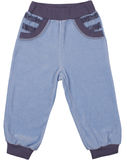 Child sweatpants isolated Royalty Free Stock Photos