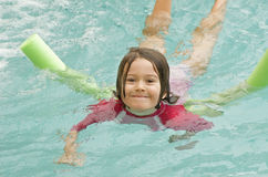 Child swimming Royalty Free Stock Photo