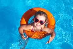 Child Swimming Stock Photos