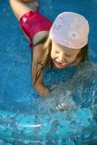 Child swimming Royalty Free Stock Photos