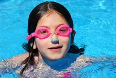Child swimming pool Stock Images