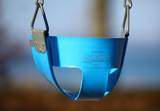 Child Swing. A child's safety swing up close royalty free stock photo