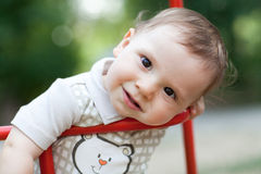 Child on the swing Stock Photography