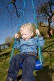 Child swing garden Royalty Free Stock Photos