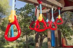 Child swing Stock Photo
