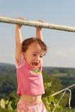 Child swinging Stock Photography