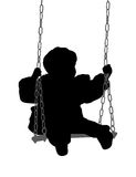 Child swinging Stock Photos