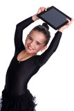 Child with tablet Royalty Free Stock Photo