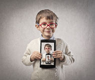 Child Tablet Royalty Free Stock Photography