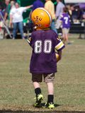 Child tailgating during an LSU football game royalty free stock photos