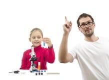Child and teacher Stock Photos