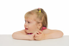 Child in tears Royalty Free Stock Photography