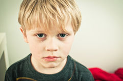 Child with tears Royalty Free Stock Image