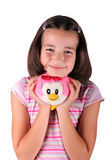 Child with teddy Royalty Free Stock Image