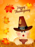 Child for Thanksgiving Royalty Free Stock Image