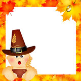 Child for Thanksgiving Royalty Free Stock Photography