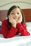 Child thinking Stock Photo