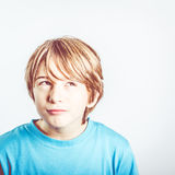 Child thinking Royalty Free Stock Images